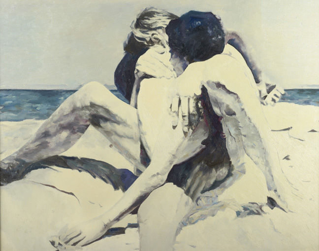 The Beach, 1969 - Balcomb Greene