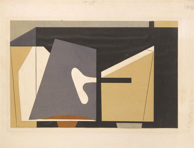 Untitled, 1936 - Balcomb Greene