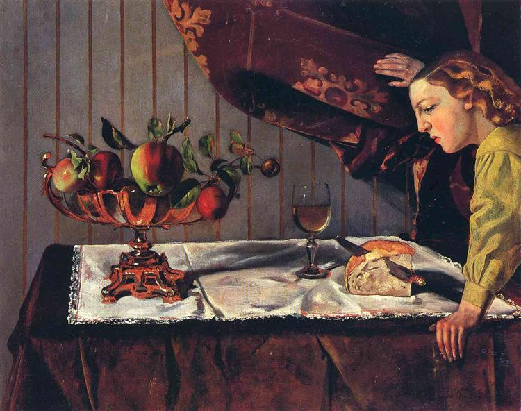Still Life with a Figure, 1942 - Бальтюс