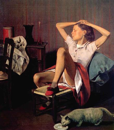 Thérèse dreaming - Balthus