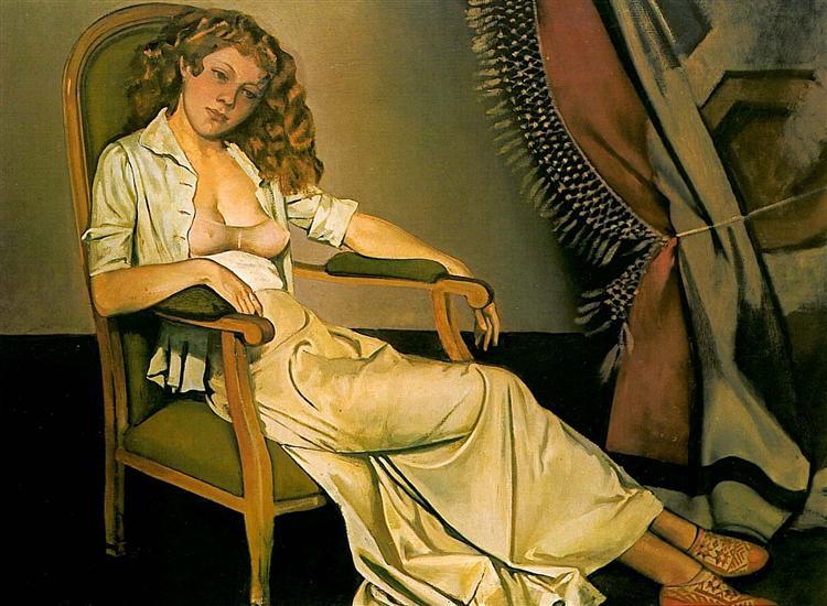 The white skirt, 1937 - Balthus
