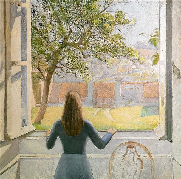 Young Girl at the Window, 1957 - Balthus