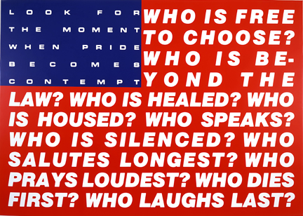 Untitled (Questions), 1991 - Barbara Kruger
