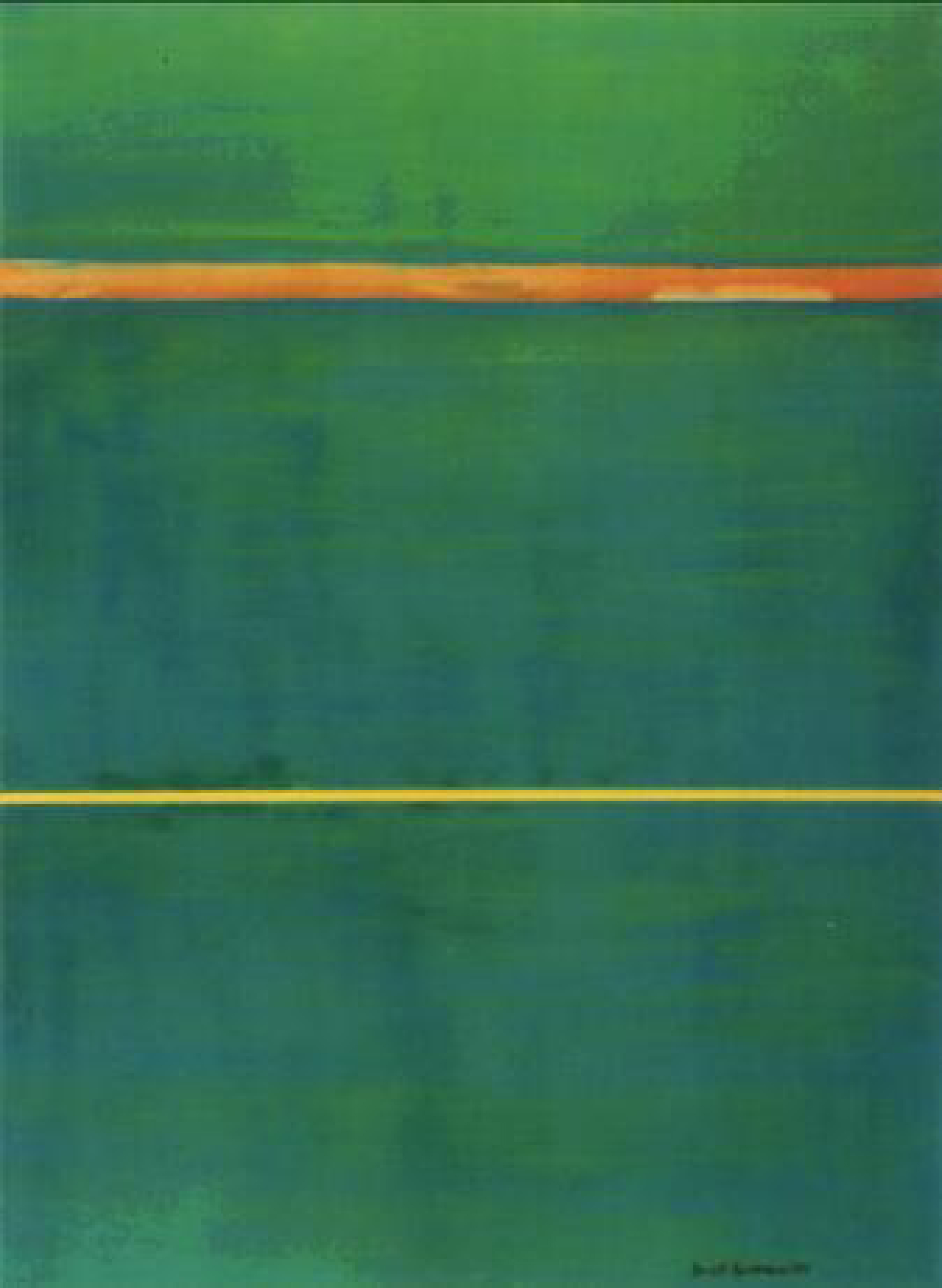 Black And Green Abstract Painting