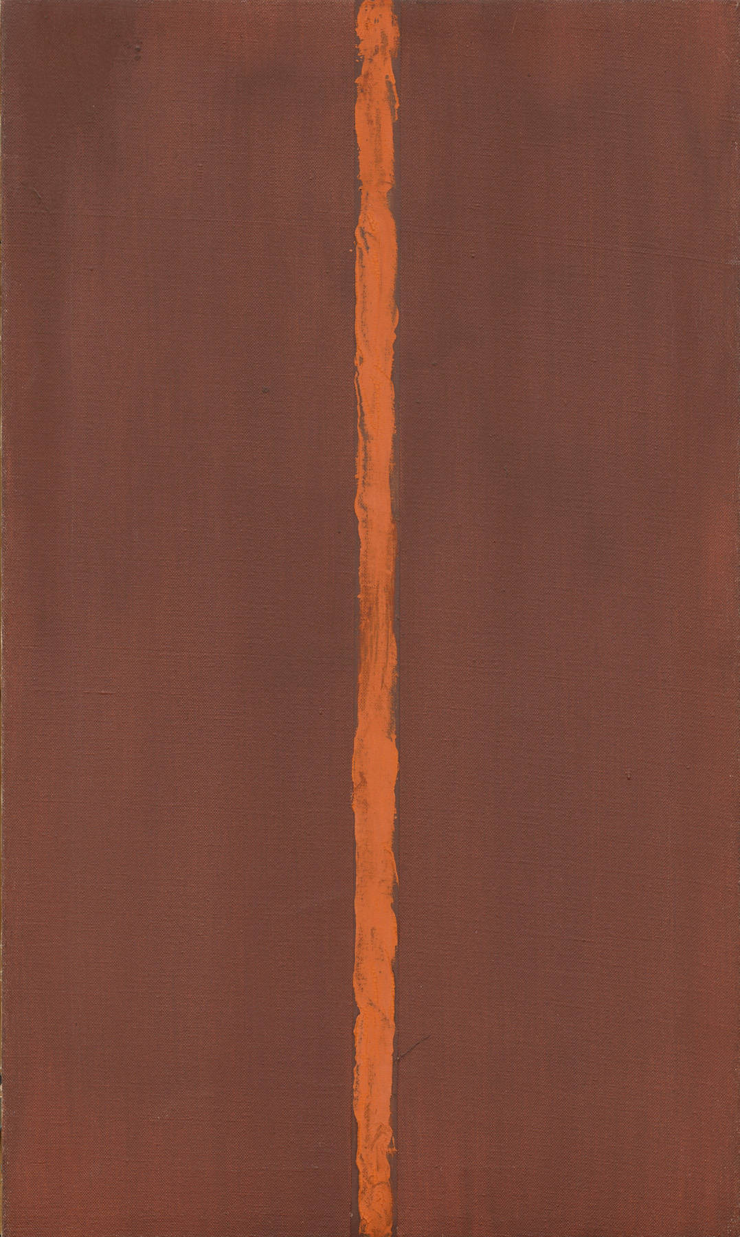 barnett newman Mitternacht blau by barnett newman is a serigraph, also known as a silk screen, is created by a process in which multiple layers of ink are manually pressed through f.