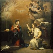 The Annunciation - Bartolomé Esteban Murillo