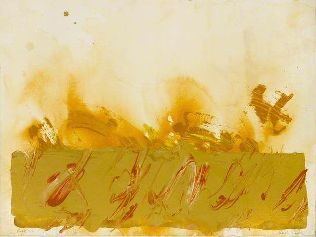 Cause and Effect IV, 1973 - Basil Beattie
