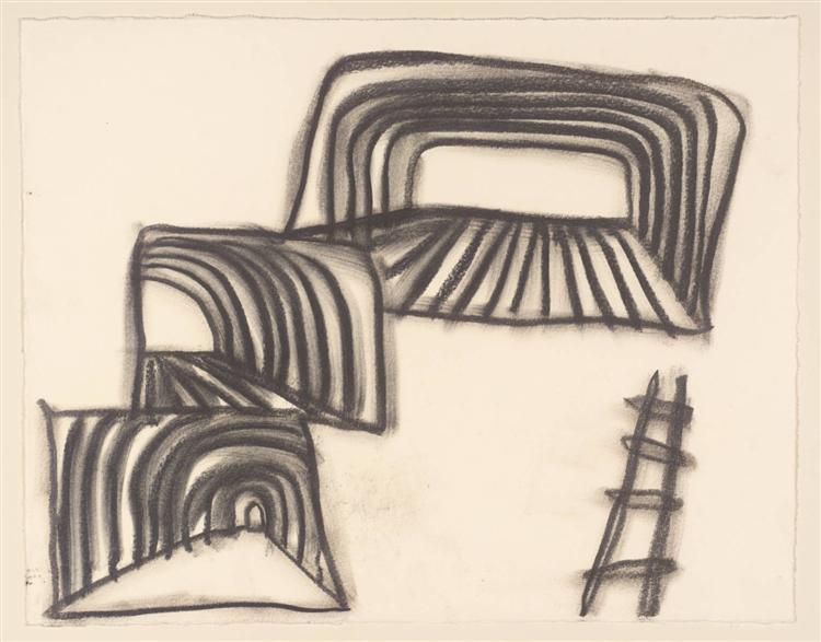 Untitled Drawing, 2002 - Basil Beattie
