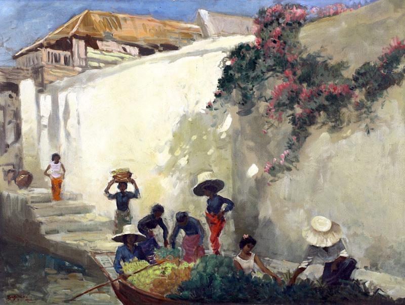 Kampung Scene