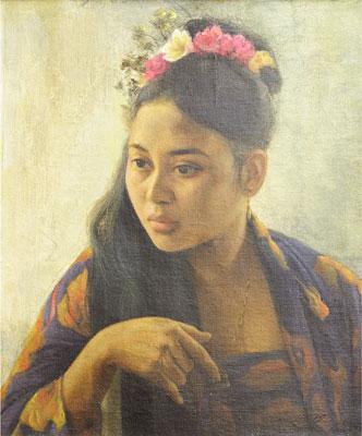 Portrait, 1970 - Басукі Абдуллах