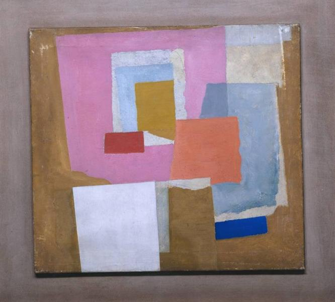 1924 (first abstract painting, Chelsea), c.1923 - 1924 - Ben Nicholson