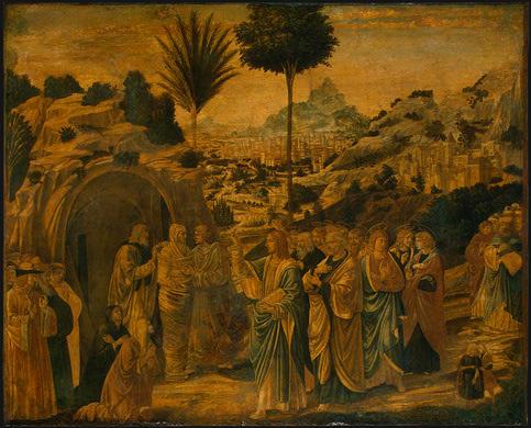 The Raising of Lazarus, c.1497 - Benozzo Gozzoli