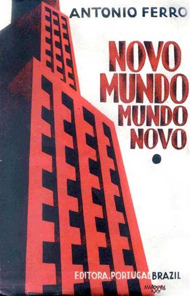 Antonio Ferro, Mundo Novo (Capa) - Bernardo Marques