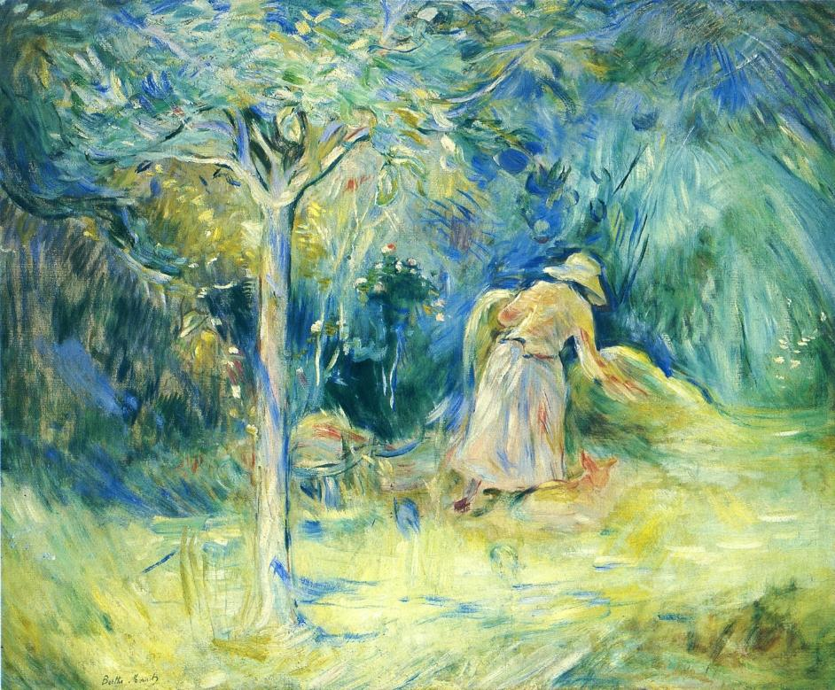 Haying at Mezy | Berthe Morisot