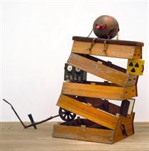 English Heritage - Humpty Fucking Dumpty - Bill Woodrow