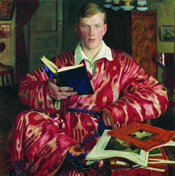Portrait of K.B. Kustodiev, 1922 - Boris Kustodiev
