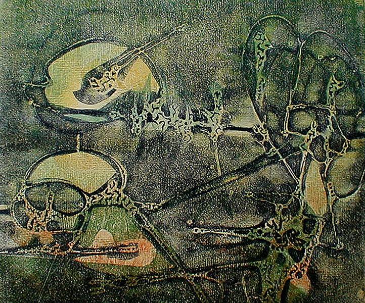 Black Light, 1946 - Boris Margo