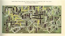 Number 9. In Praise of Gertrude Stein - Bradley Walker Tomlin