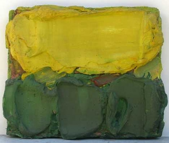 Yellow & Green, 1962 - Bram Bogart