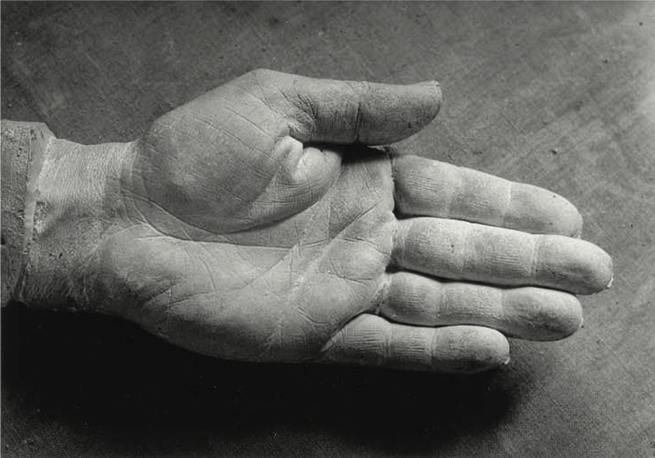 The Right Hand of Picasso, 1943