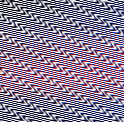 Cataract 3, 1967 - Bridget Riley