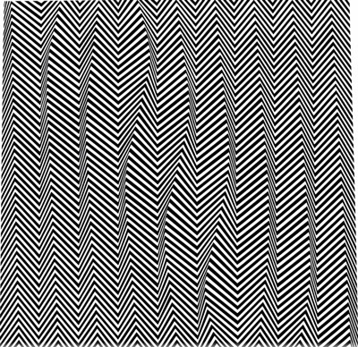 Descending, 1966 - Bridget Riley