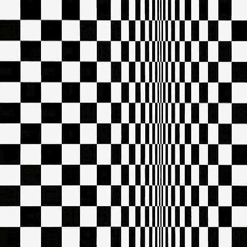 Movement in Squares, 1961 - Bridget Riley