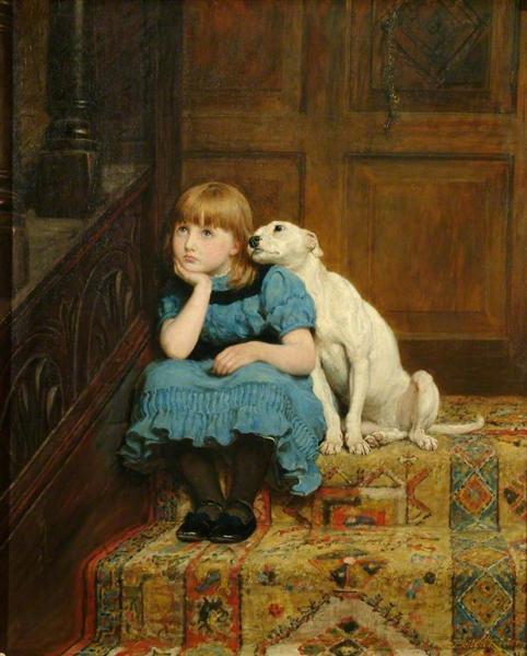 Sympathy, 1877 - Briton Riviere