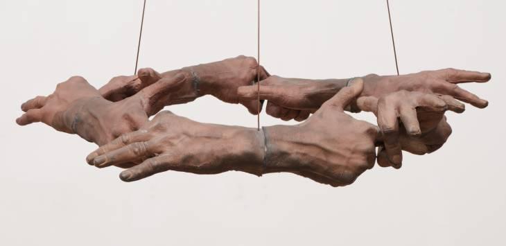 Untitled (Hand Circle), 1996 - Bruce Nauman