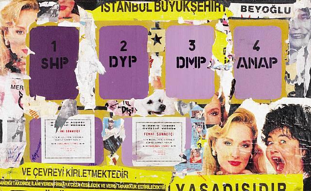 Istanbul, 1990 - Burhan Dogancay