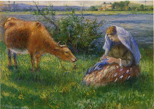 http://uploads8.wikipaintings.org/images/camille-pissarro/cowherd-pontoise-1880.jpg