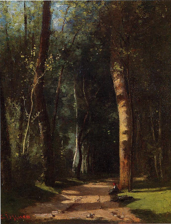 In the Woods, 1859