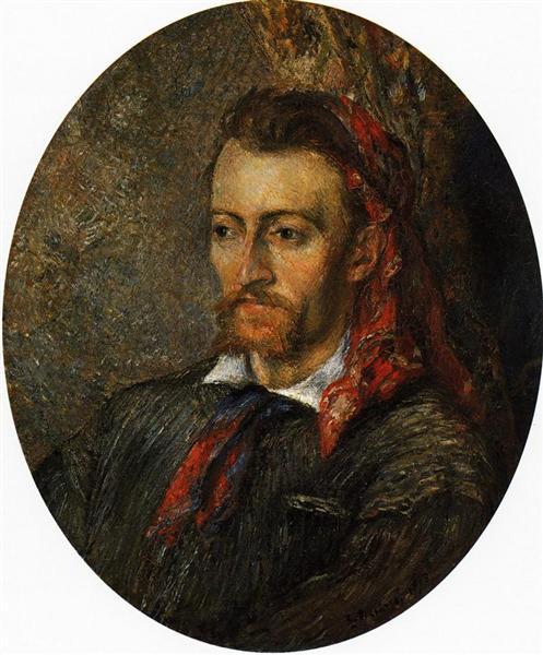 Portrait of Eugene Murer, 1878 - Camille Pissarro