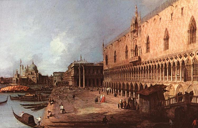 Doge's Palace, 1725 - Canaletto