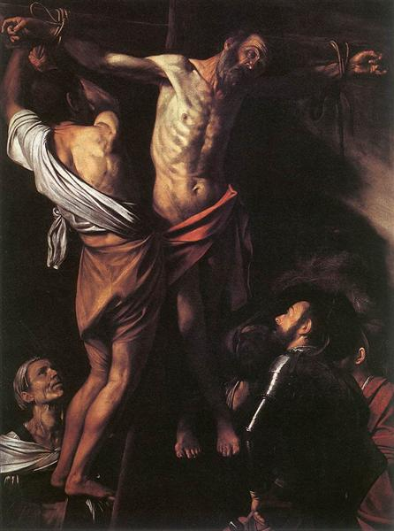 Crucifixion of Saint Andrew, 1607 - Caravaggio