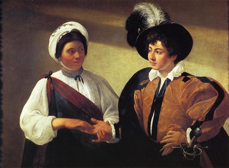 The Fortune Teller, 1598 - 1599 - Caravaggio