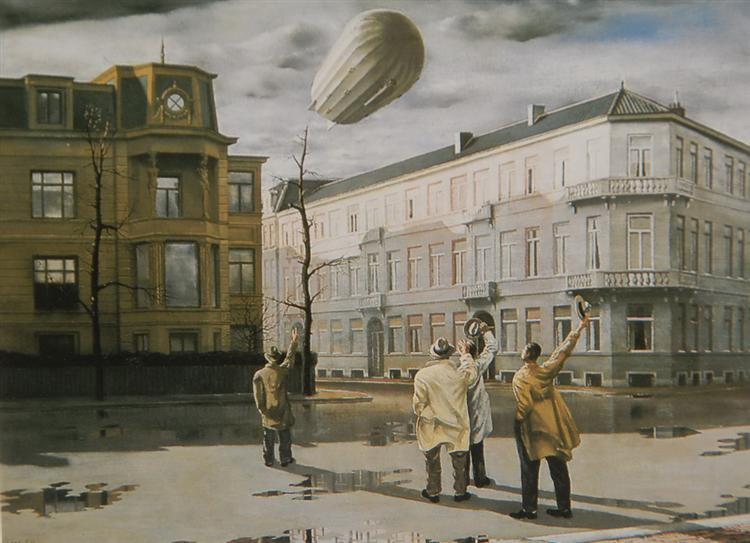 The Zeppelin, 1933 - Карел Вілінк