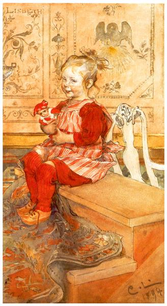 Lisbeth, 1894 - Карл Ларссон