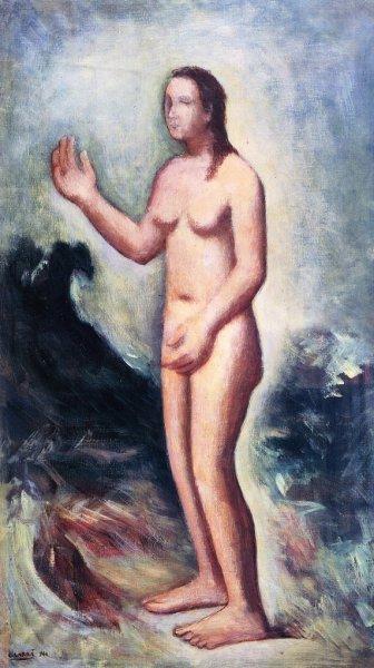 Venere anadiomene II, 1944 - Carlo Carra