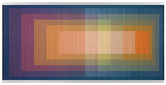 Physichromie 625, 1973 - Carlos Cruz-Diez