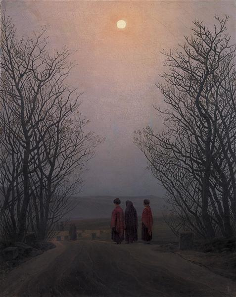 Easter Morning, 1835 - Caspar David Friedrich