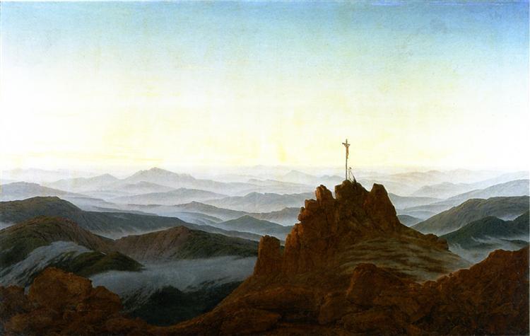 Morning in the Sudeten Mountains, c.1810 - c.1811 - Caspar David Friedrich
