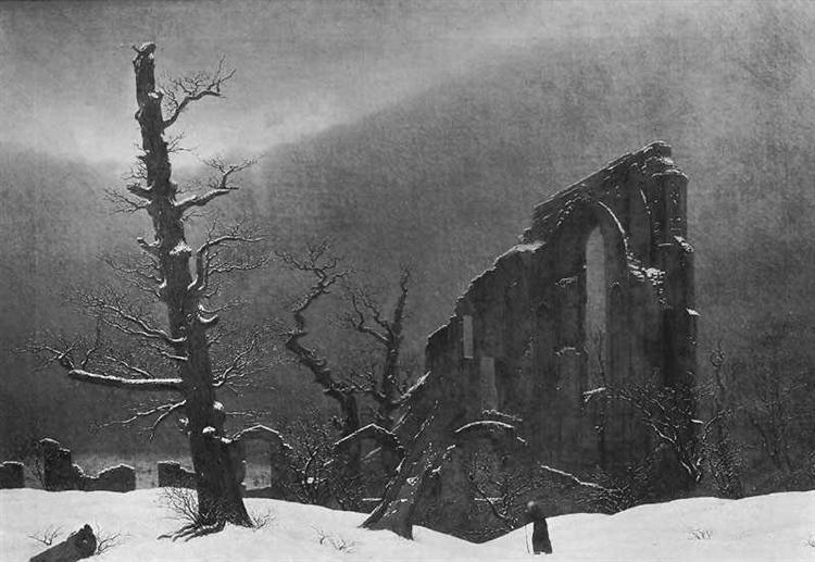 Winter, 1807 - 1808 - Caspar David Friedrich