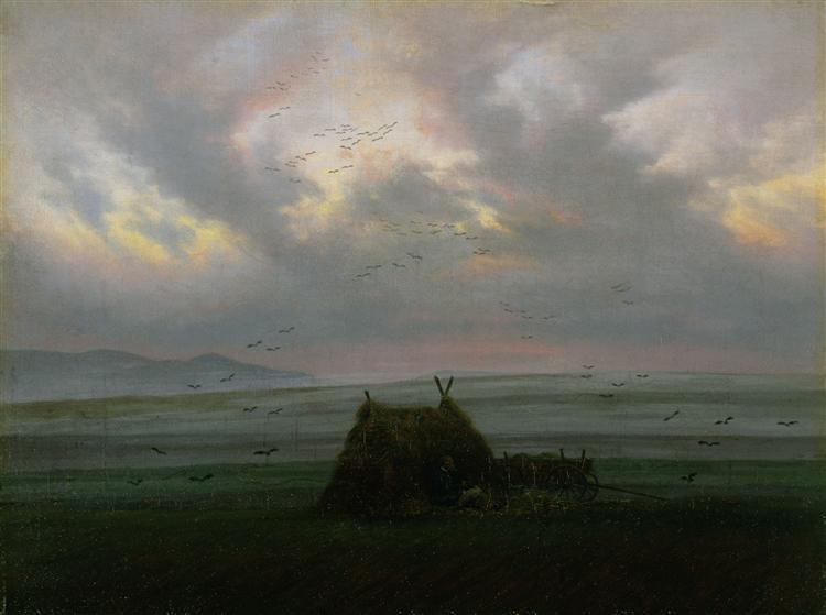 Fog, c.1820 - c.1830 - Caspar David Friedrich