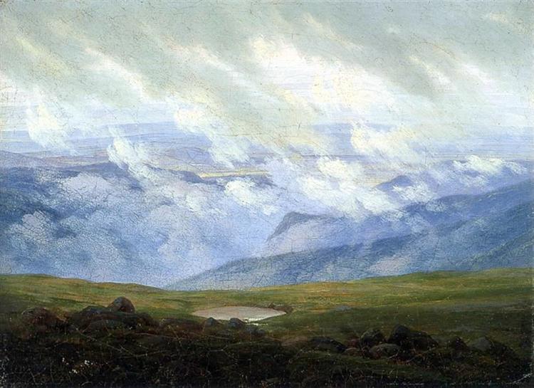 Drifting Clouds, 1820 - Caspar David Friedrich