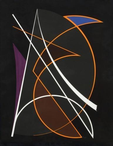 Composition, 1948 - Cesar Domela