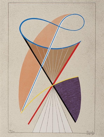 Composition, 1969 - Cesar Domela