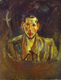 Self Portrait with Beard - Chaim Soutine