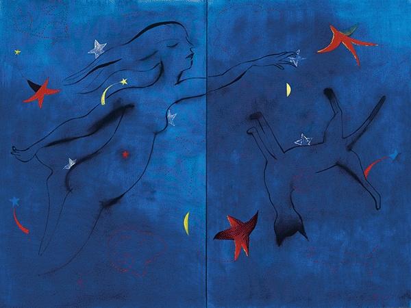 Celestial Figure, 1984 - Charles Blackman