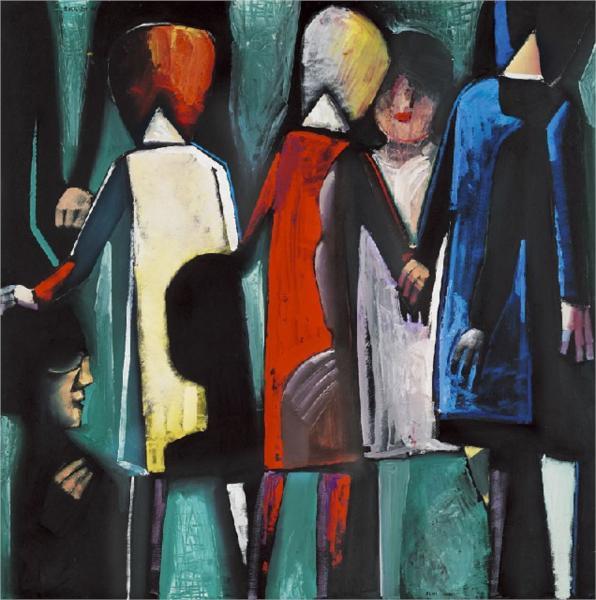 Parade, 1961 - Charles Blackman